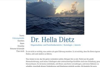 Dr. Hella Dietz Organisations- und Familienberaterin | Soziologin | Autorin